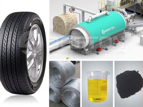 Tire to Oil Machine